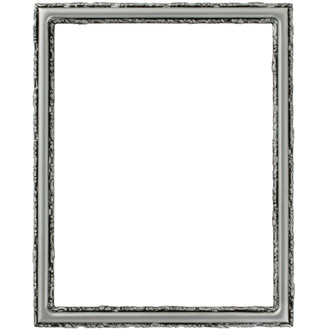 Virginia Rectangle Frame # 553 - Silver Spray