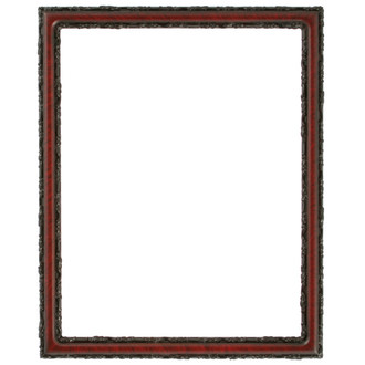 Virginia Rectangle Frame # 553 - Vintage Cherry