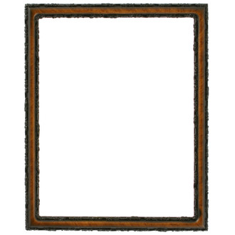 Virginia Rectangle Frame # 553 - Vintage Walnut