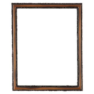 Virginia Rectangle Frame # 553 - Walnut