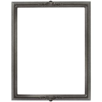 Contessa Rectangle Frame # 554 - Black Silver