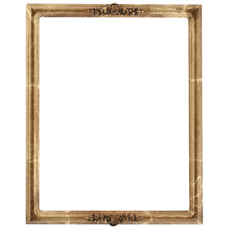 Contessa Rectangle Frame # 554 - Champagne Gold