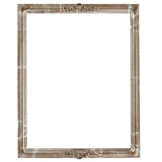 Contessa Rectangle Frame # 554 - Champagne Silver