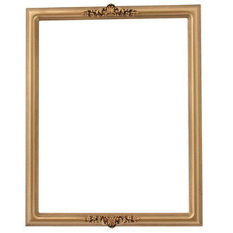 Contessa Rectangle Frame # 554 - Desert Gold