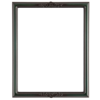 Contessa Rectangle Frame # 554 - Hunter Green