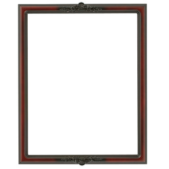 Contessa Rectangle Frame # 554 - Rosewood