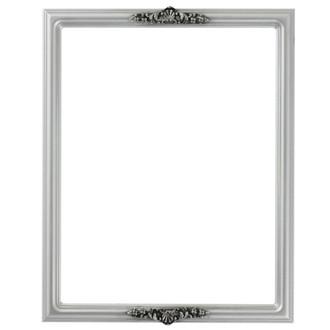 Contessa Rectangle Frame # 554 - Silver Spray