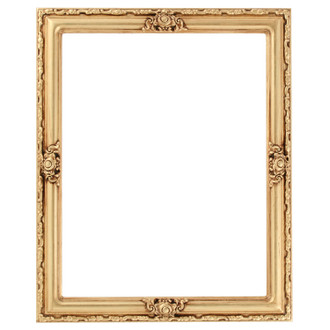 Jefferson Rectangle Frame # 601 - Gold Leaf
