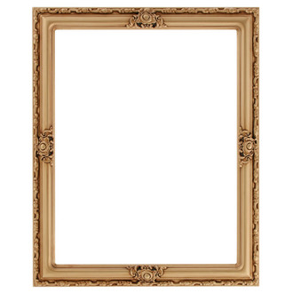 Jefferson Rectangle Frame # 601 - Gold Paint