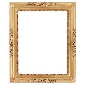Versailles Rectangle Frame # 603 - Gold Leaf