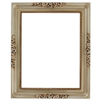 Versailles Rectangle Frame # 603 - Silver