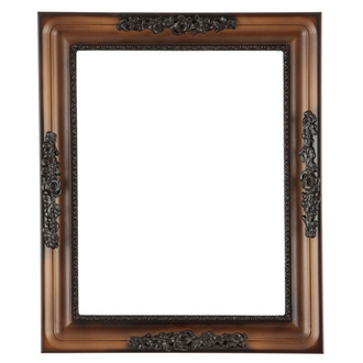 Versailles Rectangle Frame # 603 - Walnut