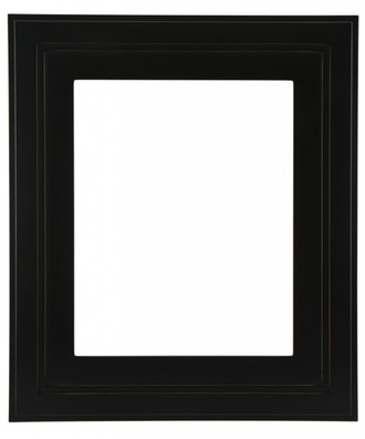 Palomar Rectangle Frame # 797 - Rubbed Black