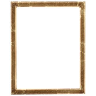 Toronto Rectangle Frame # 810 - Champagne Gold