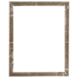 Toronto Rectangle Frame # 810 - Champagne Silver