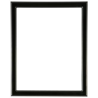 Toronto Rectangle Frame # 810 - Matte Black