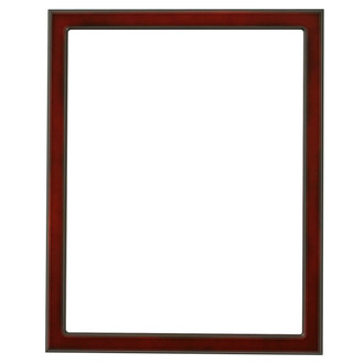 Toronto Rectangle Frame # 810 - Rosewood
