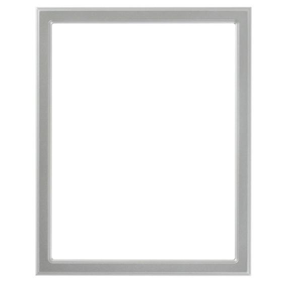 Toronto Rectangle Frame # 810 - Silver Spray