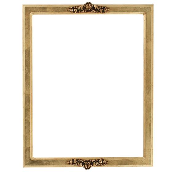 Athena Rectangle Frame # 811 - Gold Leaf