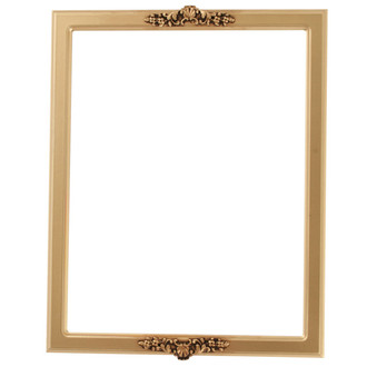Athena Rectangle Frame # 811 - Gold Spray