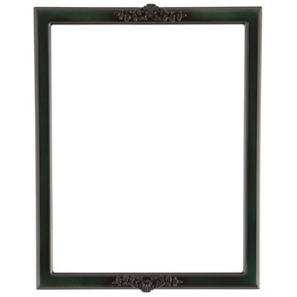 Athena Rectangle Frame # 811 - Hunter Green