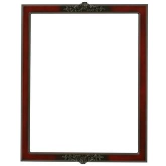 Athena Rectangle Frame # 811 - Rosewood