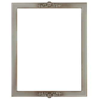 Athena Rectangle Frame # 811 - Silver Shade