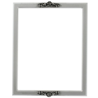 Athena Rectangle Frame # 811 - Silver Spray