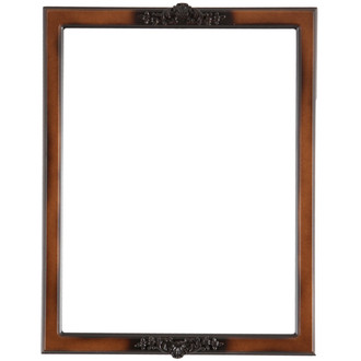 Athena Rectangle Frame # 811 - Walnut