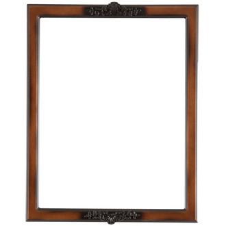 Athena Rectangle Frame # 811 - Walnut