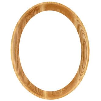 Vancouver Oval Frame # 100 - Honey Oak