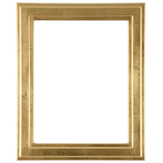 Rectangle Frame in Gold Leaf Finish| Simple Gold Leaf Picture Frames