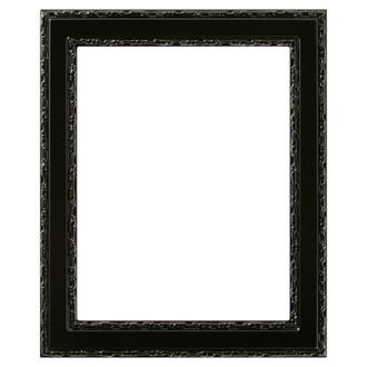 Monticello Rectangle Frame # 822 - Gloss Black