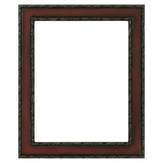 Monticello Rectangle Frame # 822 - Rosewood