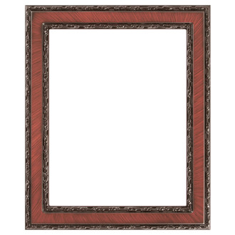 Monticello Rectangle Frame # 822 - Vintage Cherry