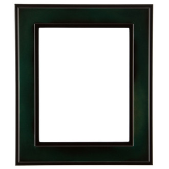 Montreal Rectangle Frame # 830 - Hunter Green