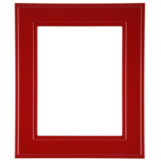 Montreal Rectangle Frame # 830 - Holiday Red