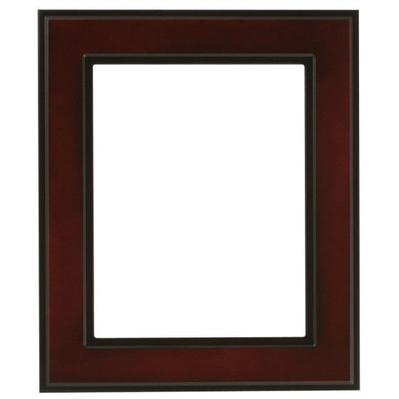 Montreal Rectangle Frame # 830 - Rosewood