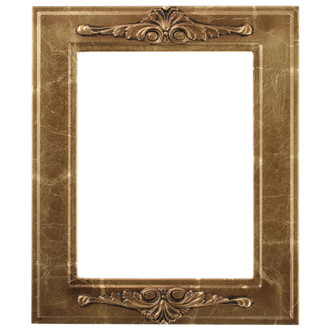 Ramino Rectangle Frame # 831 - Champagne Gold