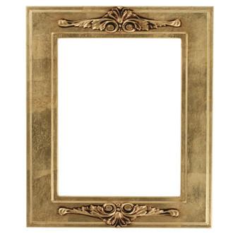 Ramino Rectangle Frame # 831 - Gold Leaf