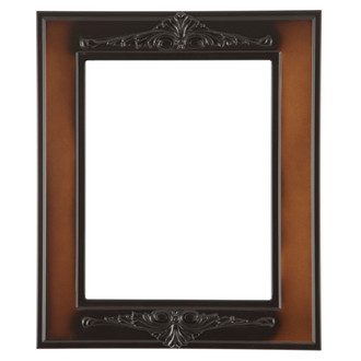 Ramino Rectangle Frame # 831 - Walnut