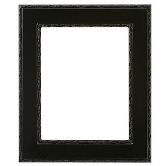 Paris Rectangle Frame # 832 - Gloss Black