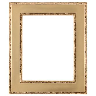 Paris Rectangle Frame # 832 - Gold Spray
