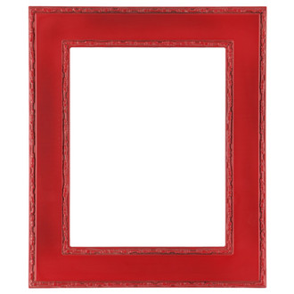Paris Rectangle Frame # 832 - Holiday Red