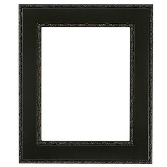 Paris Rectangle Frame # 832 - Matte Black
