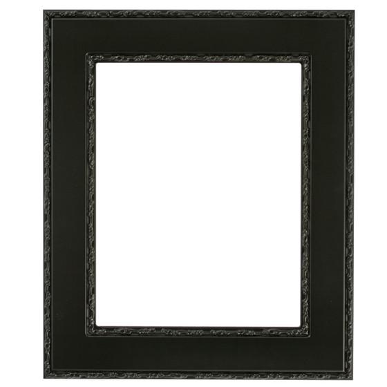 Paris Rectangle Frame # 832 - Matte Black