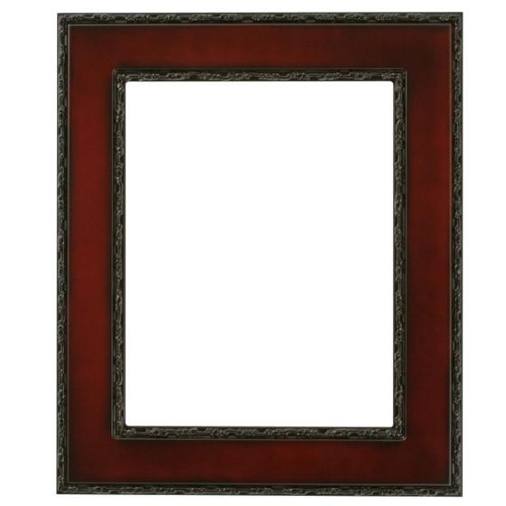 Paris Rectangle Frame # 832 - Rosewood