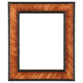Paris Rectangle Frame # 832 - Vintage Walnut