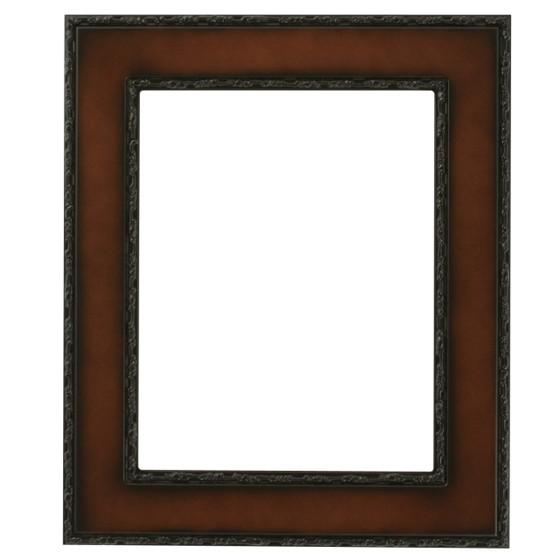 Paris Rectangle Frame # 832 - Walnut