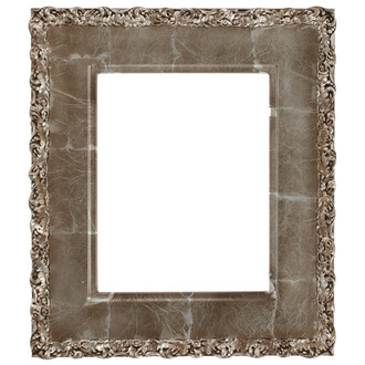 Williamsburg Rectangle Frame # 844 - Champagne Silver